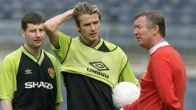 Beckham Akhirnya Mengerti Insiden Sepatu Terbang Ferguson