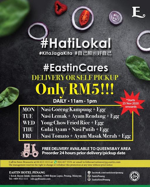Eastin Hotel Penang HatiLokal EastinCares Penang Blogger Influencer www.barryboi.com Makanan Sedap Pulau Pinang