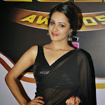 Anita   Latest Hot Photos in Black Saree