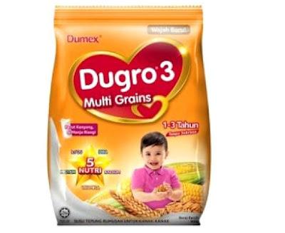 susu formula dugro multi grain