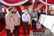 Kapolda Jateng Letakkan Batu Pertama Pembangunan Gedung Sarana Pendukung Polres Pemalang