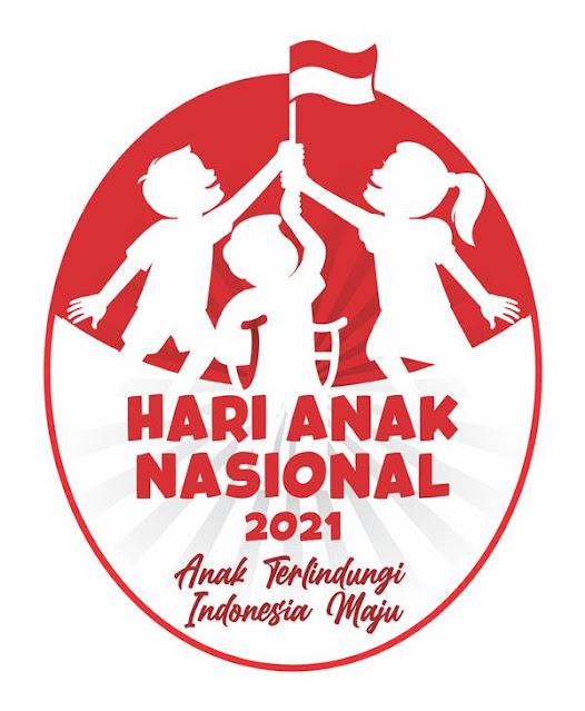 Logo Hari Anak Nasional 2021 dan Maknanya