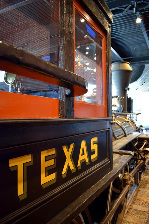 Texas Locomotive | Atlanta History Center | Photo: Travis. S Taylor