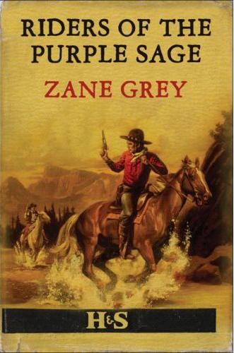 Phaeto Reads Riders Of The Purple Sage By Zane Grey