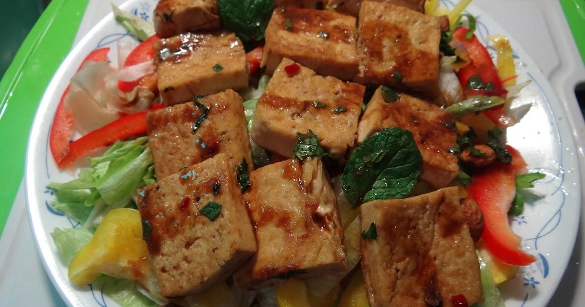 素食樂活-小紀營養師: 小紀素食料理DIY.味噌香煎板豆腐(全素)