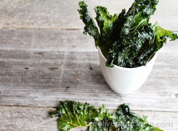 Delicious kale chips recipe vegan organic green