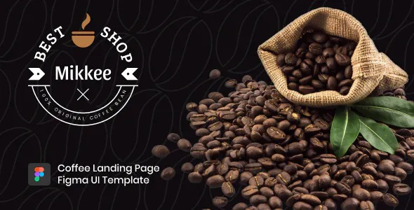 Best Coffee Landing Page HTML Template