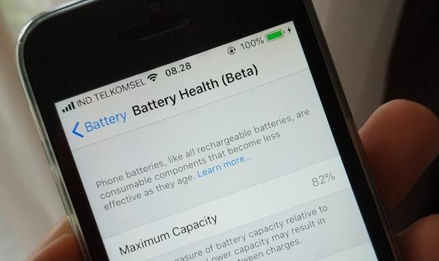 Fungsi Low Power Mode atau Mode Daya Rendah di iPhone