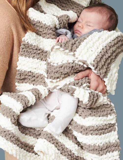 In A Wink Baby Blanket - Free Pattern