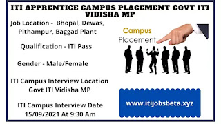 ITI Jobs Campus In Madhya Pradesh