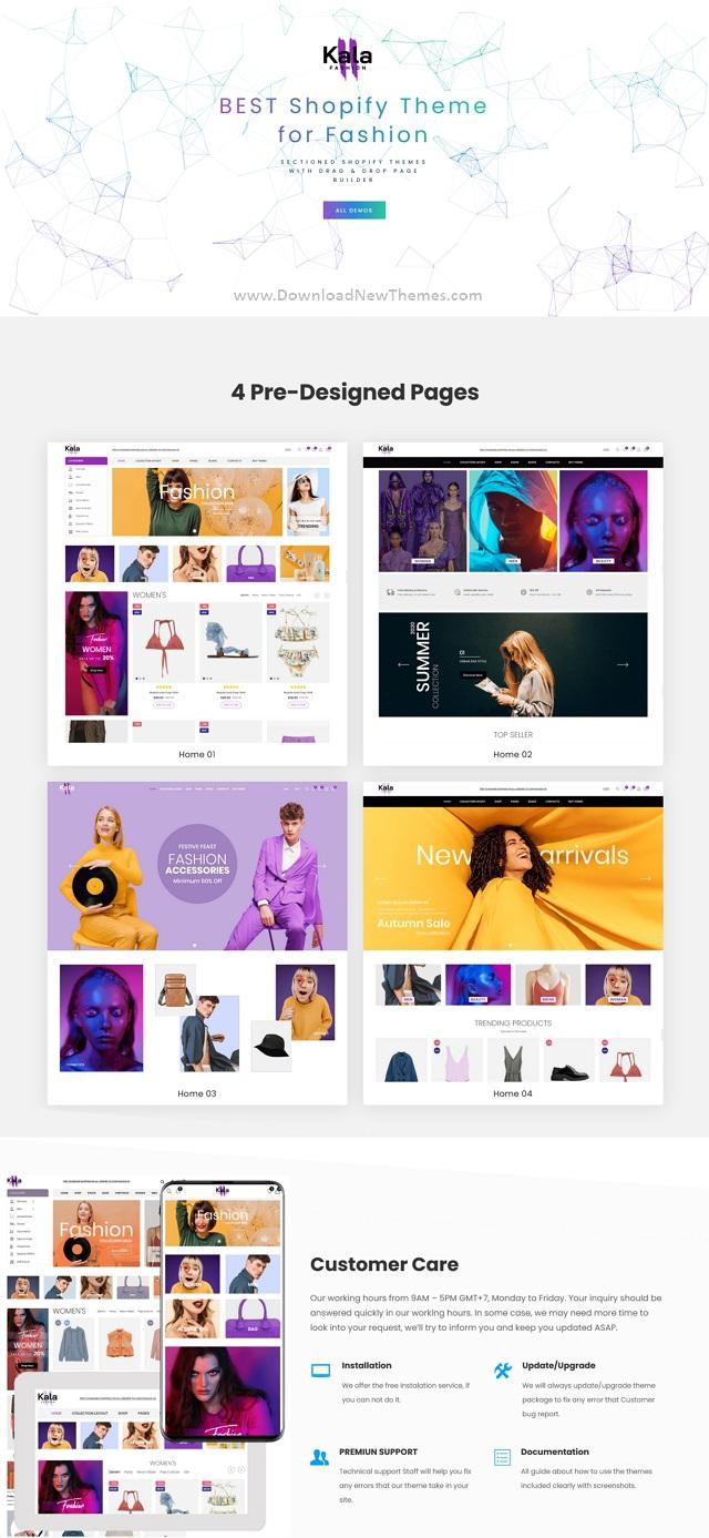 Mobile Optimized Responsive Shopify Theme