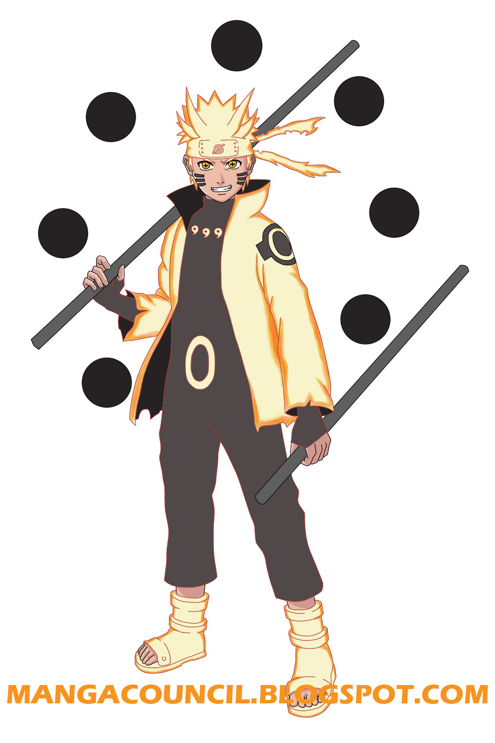 How To Draw Naruto Six Paths Sage Mode Manga Council