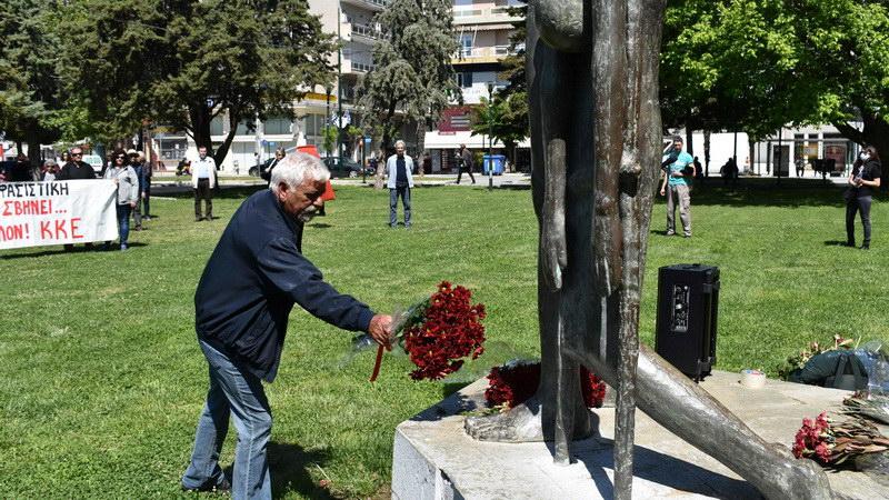 Η Τ.Ε. Έβρου του ΚΚΕ τίμησε την ημέρα της Αντιφασιστικής Νίκης των Λαών