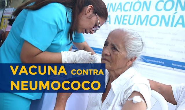 Coronavirus, vacuna contra neumococo en domicilio