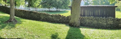 Stone fence @ Shaker Village by V. Sullivan