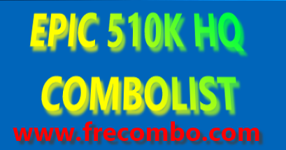 EPIC 510K HQ COMBOLIST | STREAMING, SPOTIFY, INSTAGRAM, GMAIL, STEAM, GAMING