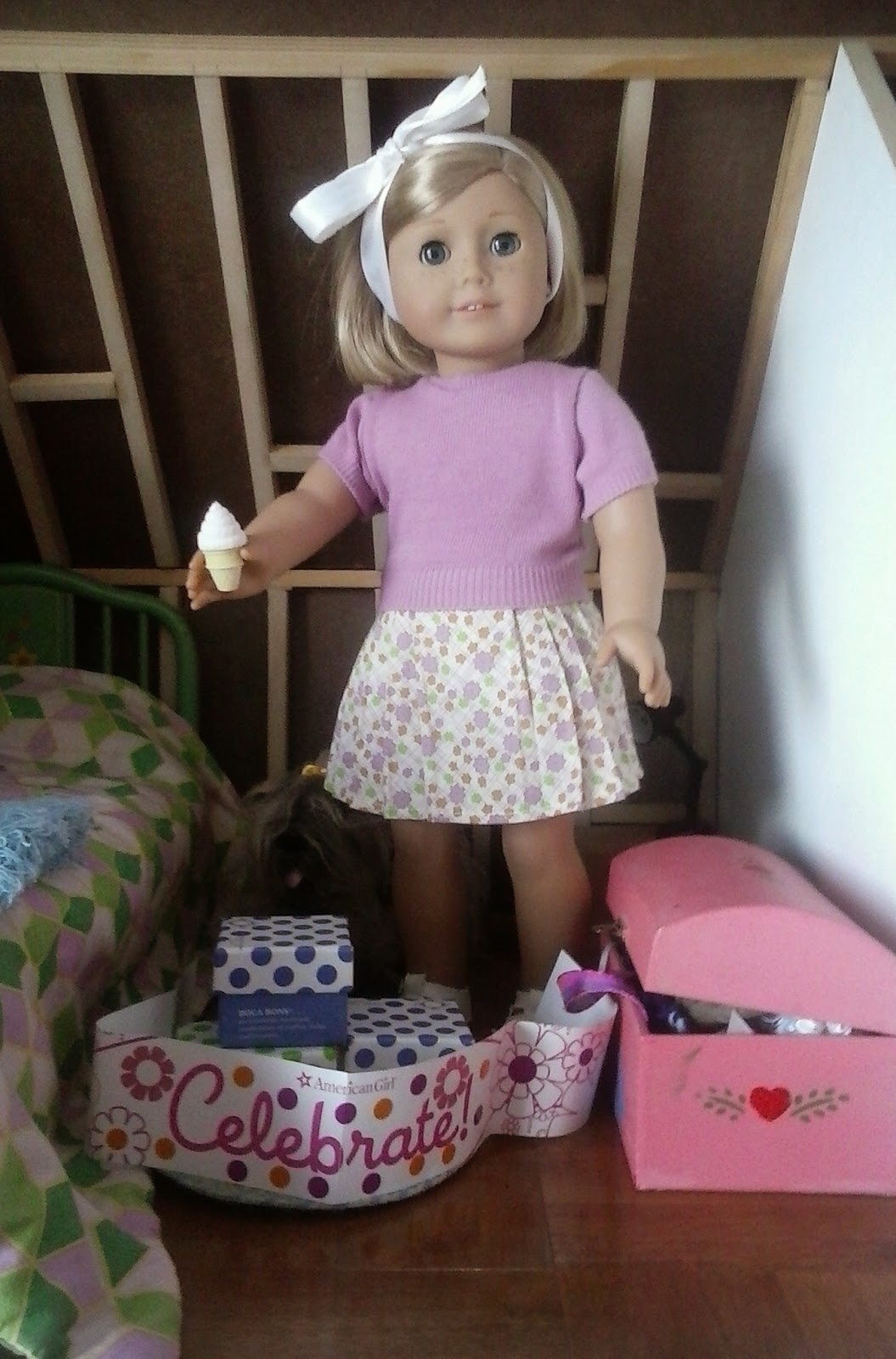 The American Girl Attic Girls Happy Birthday Kit