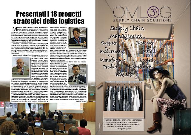 GIUGNO 2019 PAG. 24 - Presentati i 18 progetti strategici della logistica