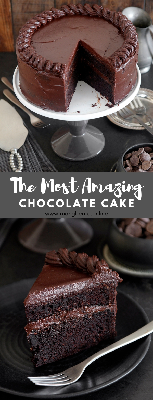 The Most Amazing Chocolate Cake #dessert #most #amazing #chocolate #cake