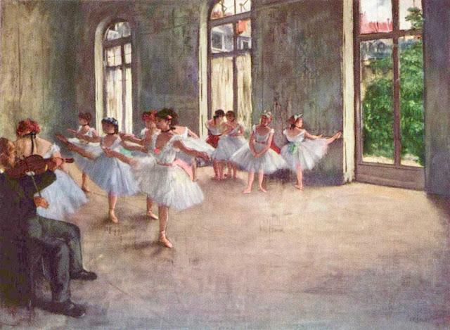 Эдгар Дега - Репетиция (1873-1878)