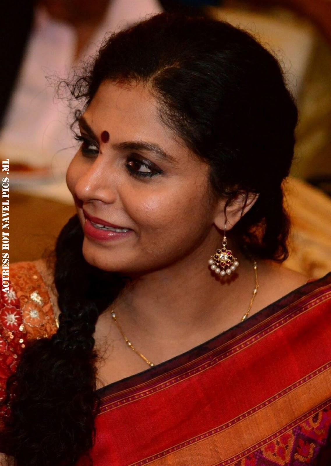 Malayalam Actress Asha Sarath Hot Close Up Photos