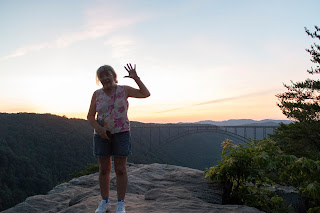 DSC 0915 - Traveling West Virginia - Hawks Nest - New River Gorge Trail