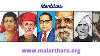 Savitribai Phule, Jyotiba Phule, Diwan Bahadur Rettamalai Srinivasan, B. R. Ambedkar, Periyar E. V. Ramasamy, Iyothee Thass
