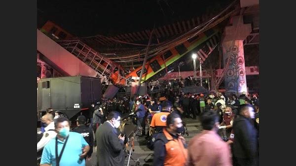 """""""Escuchamos un tronido y nos pegamos contra el techo"""": sobreviviente al desplome del Metro"""