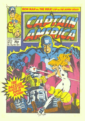 Captain America #20, the Dazzler