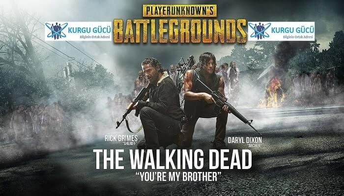 Pubg Mobile The Walking Dead Karakterlerine Can Veriyor! - Kurgu Gücü