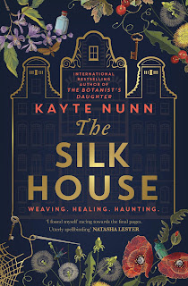 The Silk House by Kayte Nunn book cover