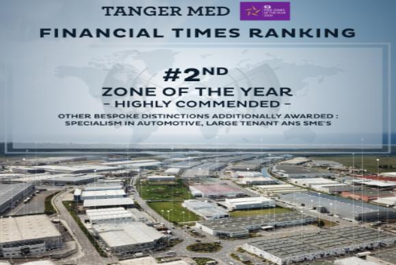 فاينشال تايمز..المنطقة الصناعية لطنجة-المتوسط ثاني أفضل منطقة اقتصادية بالعالم