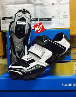 Sepatu Sepeda Shimano XC31 White
