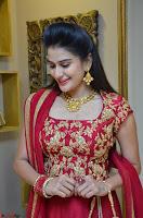 Jenny Honey in Stunning Dark Red Anarkali Dress at Splurge   Divalicious curtain raiser ~ Exclusive Celebrities Galleries 016.JPG