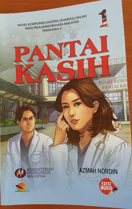 Pantai Kasih, Novel Komsas Tingkatan 4 Berunsur Lucah