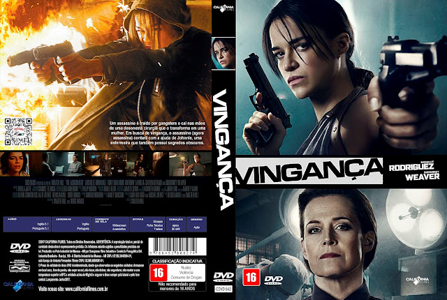 Capa DVD Vingança [Exclusiva]