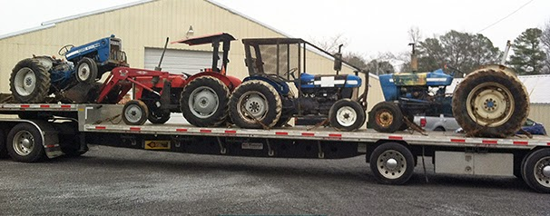 Cross Creek Tractor News: New Tractor Salvage Has Arrived