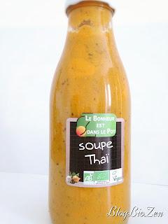 La soupe Thai - Le Bonheur est dans le pot