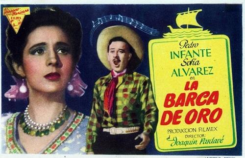 La Barca De Oro   Pedro Infante Lyrics