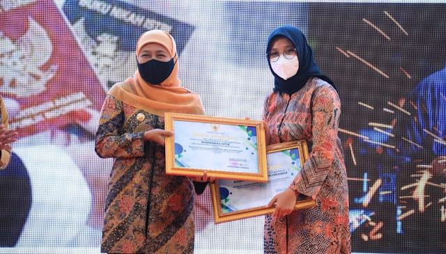 Banyuwangi raih 2 penghargaan dari Pemprov Jatim 2021