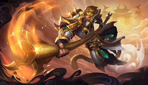 Thánh kiếm sẽ là món đồ phụ trợ sát thương cực phải nhớ về đầu trò chơi