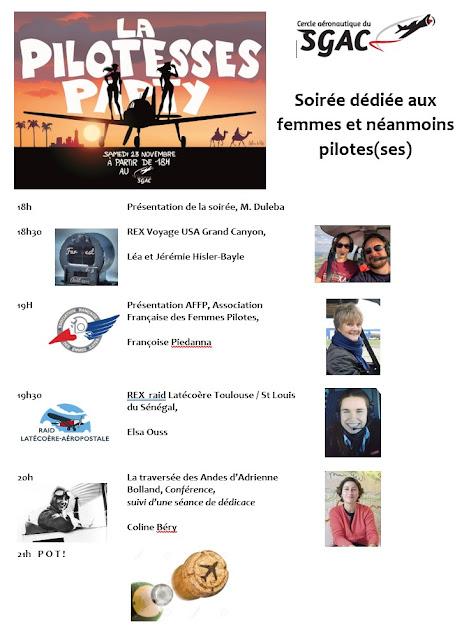 Agenda Pilotesse Party 2019