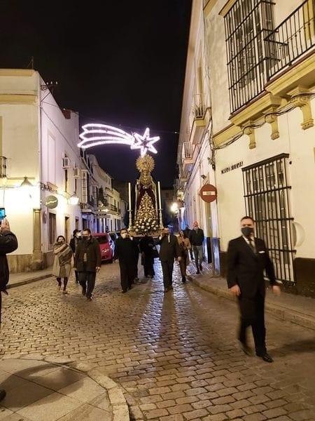 INÉDITO!!! La Esperanza de la Yedra se traslada en secreto a San Miguel Jerez 2020