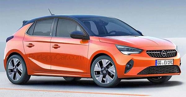Burlappcar: 2020 Opel Corsa