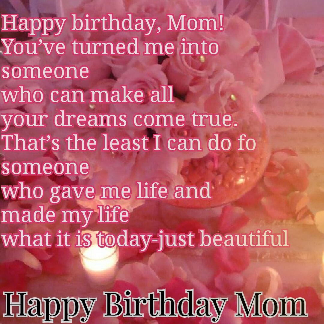 Best 70 Birthday Wishes For Mom Love Shayari In Hindi Top