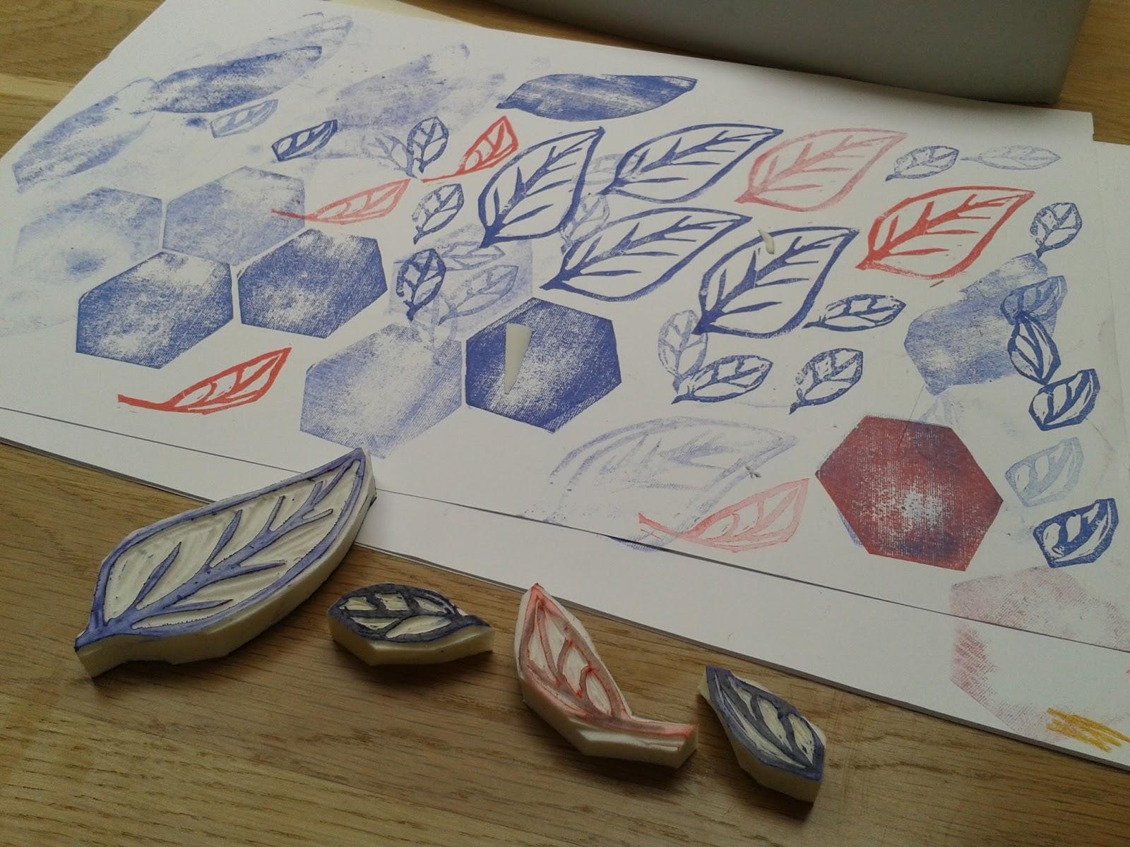 Verwonderend Welkom op Anja's blog: Zelf stempels maken van gum DO-46