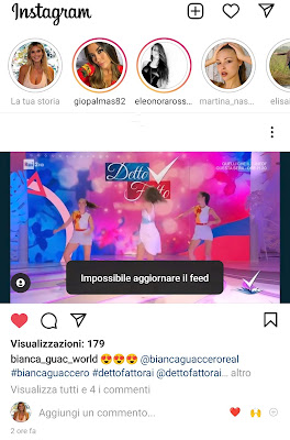 Instagram down 4 ottobre 2021