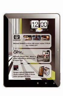 Harga Tablet Cyrus Terbaru Juli 2014