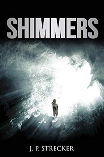 Shimmers - suspense fiction book promotion by J.P. Strecker