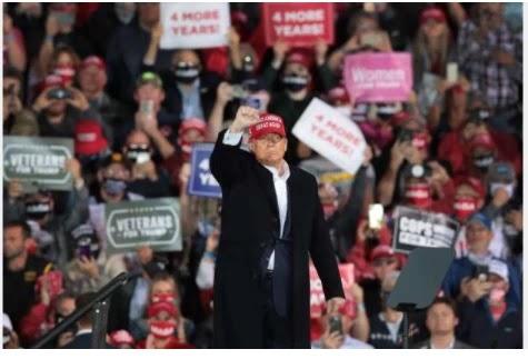 Trump: Biden 'will listen to scientists' if elected